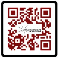 QR code castan rouge
