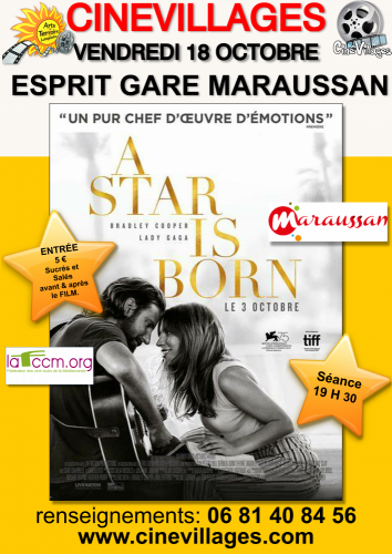 AFFICHES-2019-STAR-IS-BORN-MARAUSSAN © La Domitienne